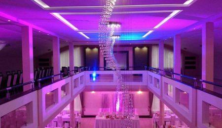 Oświetlenie dekoracyjne na wesele czyli świetlne kreowanie przestrzeni.